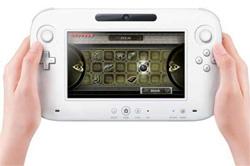 Der neue Controller für Nintendos neue Konsole Wii U